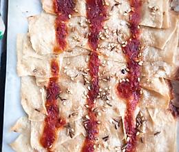 烤箱版 烤豆皮的做法