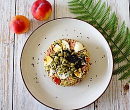 健身减脂/儿童餐/番茄香肠烩藜麦饭的做法