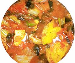 酣畅淋漓~韩式泡菜汤的做法