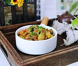 椰香咖喱牛肉#花10分钟,做一道菜!#的做法