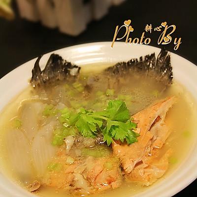 三文鱼洋葱汤