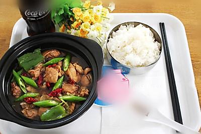 黄焖鸡米饭制作方法