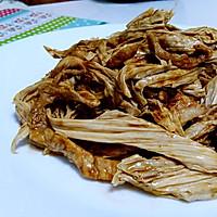 小炒腐竹——橄露Gallo经典特级初榨橄榄油试用的做法图解5