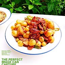 #做饭吧!亲爱的#小土豆红烧肉片