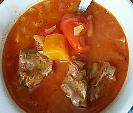 香濃牛尾羅宋湯的做法