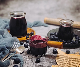 蓝莓酱的做法