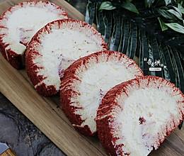 红丝绒旋风蛋糕卷的做法