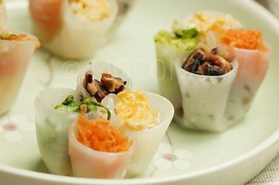 立春小点-四喜水晶饺