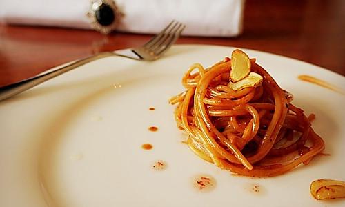 玫瑰酱红油腐乳意大利面的做法