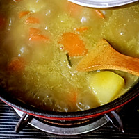 咖喱鲜虾牡蛎锅的做法图解11