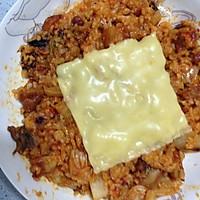 辣白菜鸡排饭的做法图解4