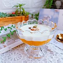 芒果酸奶杯#硬核菜谱制作人#