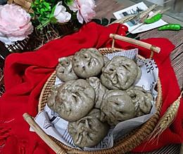 #爱乐甜夏日轻脂甜蜜#荞麦冬菇肉包。的做法