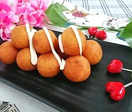 #巨下饭的家常菜#缤纷下午茶--奶香红薯丸子的做法