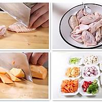 百变焖锅之三汁鸡翅焖锅—捷赛私房菜的做法图解1