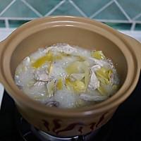 白果咸菜猪肚煲的做法图解9