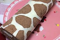彩绘长颈鹿蛋糕卷的做法
