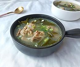 营养海带排骨汤的做法