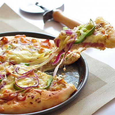 COUSS特约食谱——金枪鱼培根披萨
