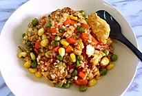 五彩鲜蔬糙米发芽饭的做法