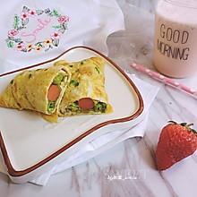 鸡蛋卷#美的早安豆浆机#