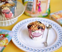 """0卡甜品蓝莓玛芬蛋糕""""糖小朵""""教给你的做法"""