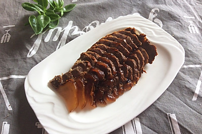 压力锅版酱牛肉#豆果魔兽季部落#