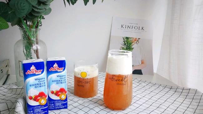 #安佳儿童创意料理#安佳奶盖茶的做法