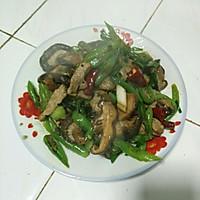 冬菇炒肉的做法图解3