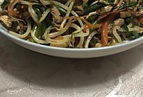 炒韭菜苔的做法