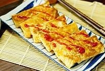 香煎腐皮卷【微体兔菜谱】的做法