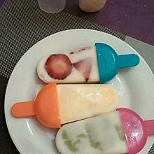 果粒酸奶冰淇淋