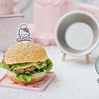 香辣鸡腿汉堡(含面包胚的制作)的做法图解24