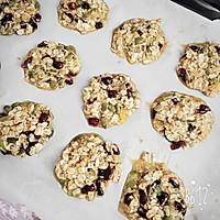 【健康零食】南瓜燕麦干果饼干的做法图解4