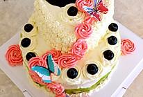 美美的双层蛋糕的做法