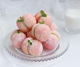 仿真水蜜桃软饼干的做法