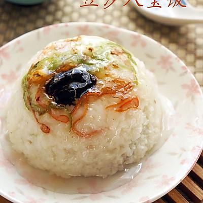 儿时回忆——豆沙八宝饭