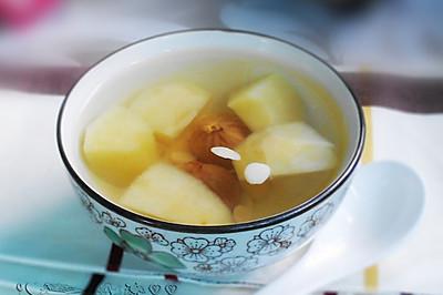 苹果杏仁无花果甜汤