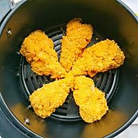 #精品菜谱挑战赛#不放一滴油的黄金炸鸡腿的做法图解19