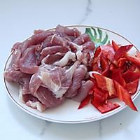 肉片炒豇豆的做法图解2