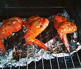 烤奥尔良鸡全翅的做法