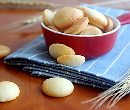 蛋黄奶粉小饼干的做法