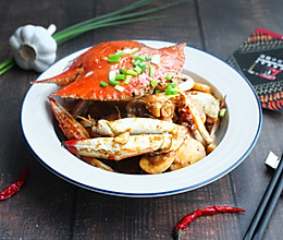 【香辣蟹炒年糕】咸鲜浓烈的做法