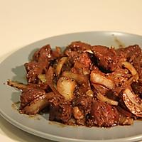 [10分钟系列]浓郁黑椒牛肉的做法图解5