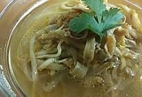 沙虫笋丝汤的做法