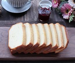#我们约饭吧#面包机版海绵蛋糕,不收腰不塌陷,组织细腻味道好的做法