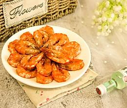 吮指油焖大虾的做法