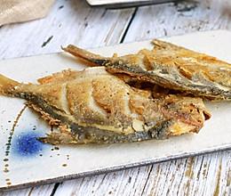 煎鲳鱼#快手又营养,我家的冬日必备菜品#的做法