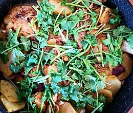 平锅烤鱼的做法