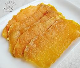 自制美味芒果干的做法
